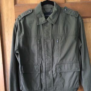 Banana Republic Jacket, Zipper/Snap Front, pockets
